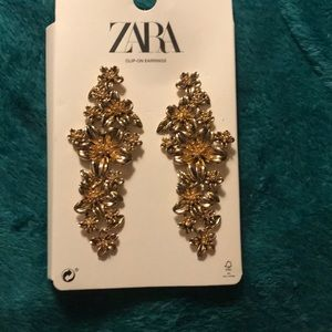 Zara clip on earrings